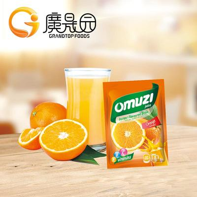 9g For 1.5l Water Orange Juice Flavored Drink