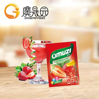 9g For 1.5l Water Strawberry Juice Flavored Drink