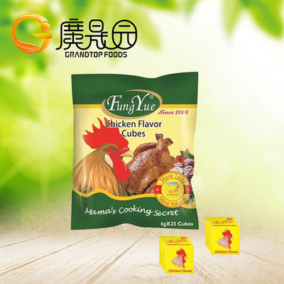 New!! 4g*25 Chicken Bouillon Cube/ Halal Certificated / For The World
